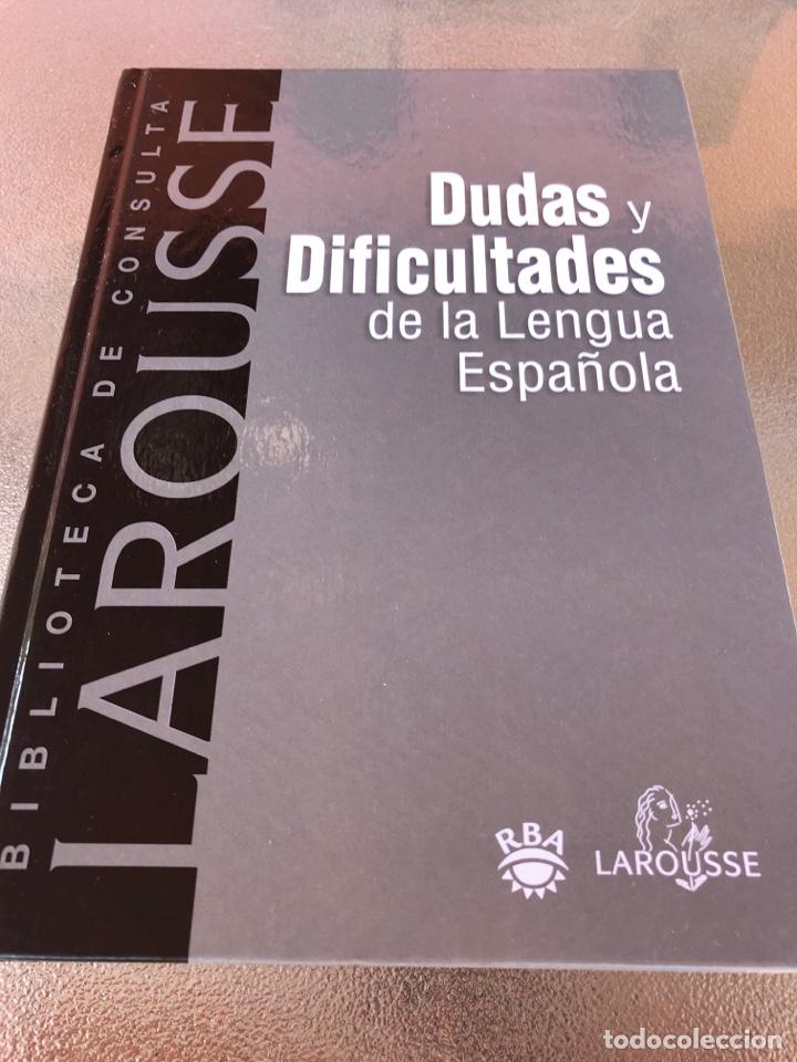 DUDAS Y DIFICULTADES DE LA LENGUA ESPAÑOLA (Libros Nuevos - Diccionarios y Enciclopedias - Diccionarios)
