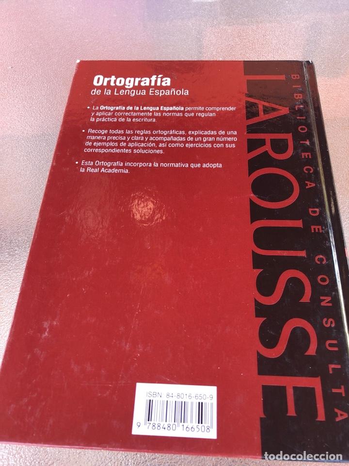 Diccionarios: Ortografía de la lengua española - Foto 2 - 288329528