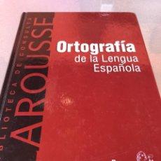Diccionarios: ORTOGRAFÍA DE LA LENGUA ESPAÑOLA. Lote 288329528