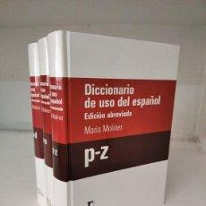 Diccionarios: DICCIONARIO MARÍA MOLINER. Lote 288554433