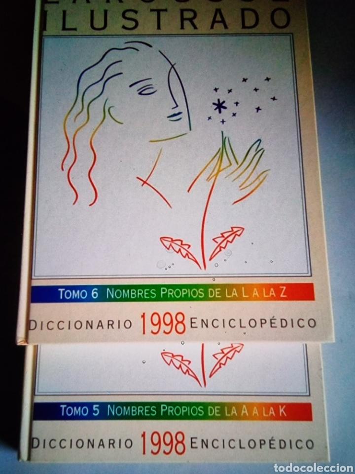 Diccionarios: Diccionario Larousse ilustrado - Foto 2 - 289004103