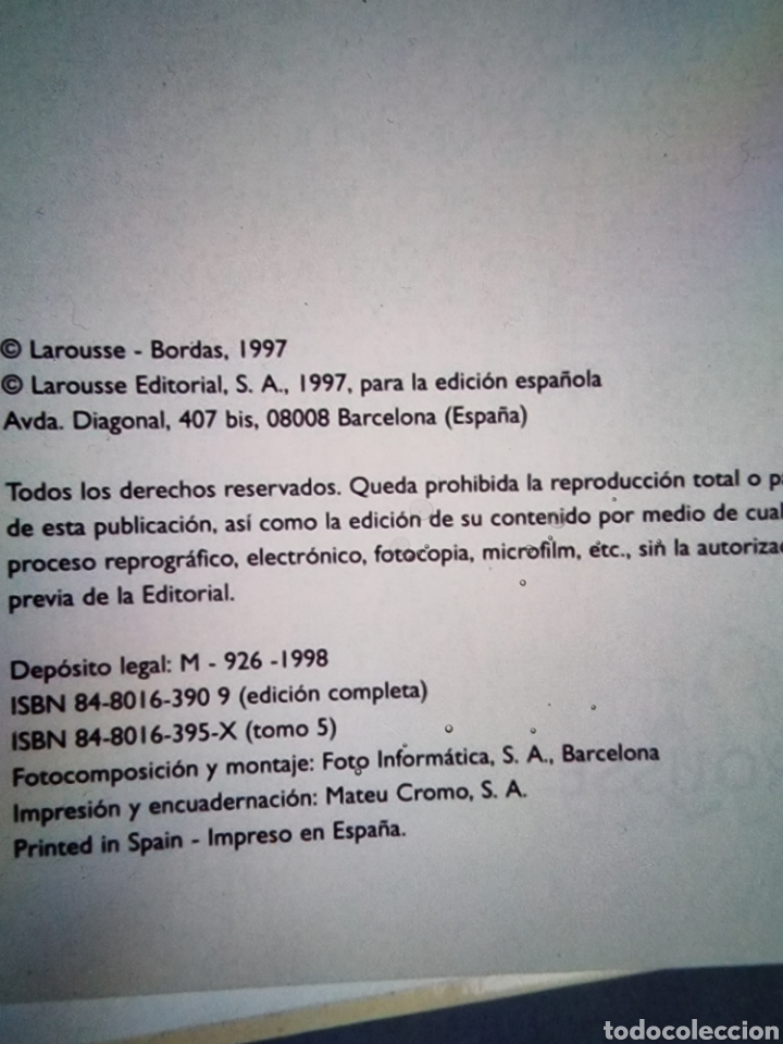 Diccionarios: Diccionario Larousse ilustrado - Foto 5 - 289004103