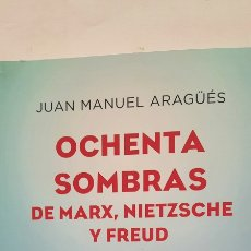 Diccionarios: OCHENTA SOMBRAS DE MARX, NIETZSCHE Y FREUD. Lote 289022473