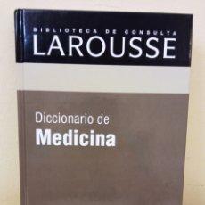 Diccionarios: DICCIONARIO DE MEDICINA LAROUSSE. Lote 292578058