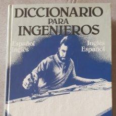 Diccionarios: DICCIONARIO PARA INGENIEROS. Lote 294857303
