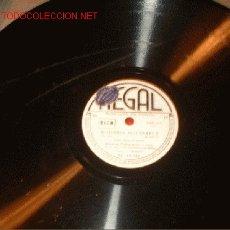 Discos de pizarra: ANTIGUO DISCO DE REGAL -MADAMA BUTTERFLY-. Lote 882564