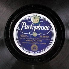 Discos de pizarra: BENNY GOODMAN AND HIS ORCHESTRA ( THE EARL - CLARINET A LA KING ) THE 1942 SUPER RHYTHM ENGLAND. Lote 1148749
