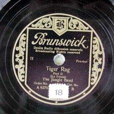 Discos de pizarra: THE JUNGLE BAND. Lote 909300
