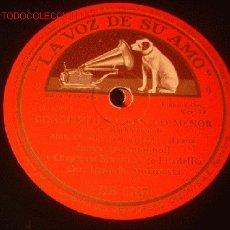 Discos de pizarra: ANTIGUO DISCO DE LA VOZ DE SU AMO -CONCIERTO Nº 2 EN DO MENOR- II Y III PARTE.. Lote 902412