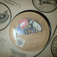 Discos de pizarra: ANTIGUO DISCO DE GRAMOFONO. Lote 748403