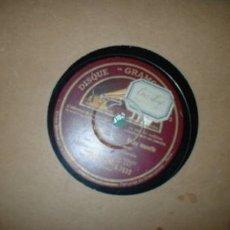 Discos de pizarra: ANTIGUO DISCO DE GRAMOFONO ++PRECIO DE LIQUIDACION++. Lote 1339984