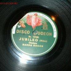 Discos de pizarra: DISCO GRAMOFONO JUBILEO-WEBER . Lote 692702