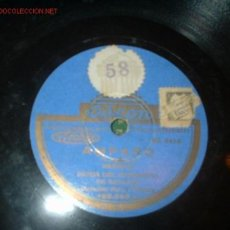 Discos de pizarra: ANTIGUO DISCO DE GRAMOFONO -AMPARO- Y -EL OCULISTA-. Lote 792258