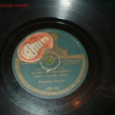 Discos de pizarra: ANTIGUO DISCO DE GRAMOFONO -MIRASOL- CON SU FUNDA.. Lote 810167