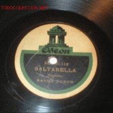 Discos de pizarra: DISCO GRAMÓFONO- EVA, SANTA RELLA- CASA DE DISCOS ODEON.. Lote 1126391