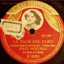 Discos de pizarra: DISCO 78 RPM - NATI MISTRAL - COLUMBIA - PIZARRA. Lote 10044101