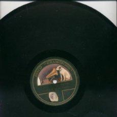 Discos de pizarra: EL ANILLO DE HIERRO (MARQUES) Y CAMPANONE (MAZZA) DISCO GRAMOFONO. Lote 25759635