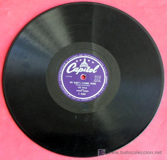 LOUIS ARMSTRONG AND HIS ORCHESTRA WITH VOCAL (GEORGIA BO BO - WILD MAN BLUES) ENGLAND DECCA (Música - Discos - Pizarra - Jazz, Blues, R&B, Soul y Gospel)