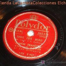Discos de pizarra: ANTIGUO DISCO DE GRAMOFONO POLYDOR, ORIGINAL DE LOS AÑOS 20/30.. Lote 6107968