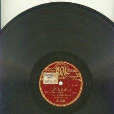 Discos de pizarra: HIPOLITO LAZARO - LA BRUJA ,JOTA , LA PARTIDA ,CANCION. Lote 27015507