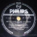 Discos de pizarra: DISCO 78 RPM - DORIS DAY CON PAUL WESTON Y SU ORQUESTA - PHILIPS - A LA LUZ DE LA LUNA - PIZARRA. Lote 7849749