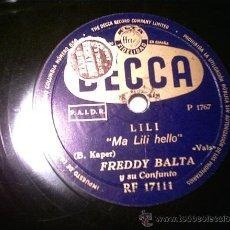 Discos de pizarra: DISCO DE PIZARRA. Lote 23857301