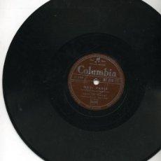 Discos de pizarra: CHARLES TRENET - OHE! PARIS / MES JEUNES ANNEES - DISCO DE 25 CM.. Lote 27215842