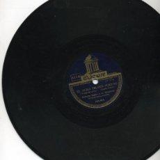 Discos de pizarra: ROBERTO INGLEZ Y SU ORQUESTA - EL ALMA DE LOS POETAS / NOCHE DE RONDA - DISCO DE 25 CM.. Lote 27215838