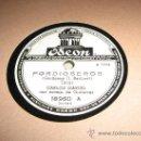 Discos de pizarra: CARLOS GARDEL, PARA GRAMOFONO, PORDIOSEROS Y CANCHERO. Lote 27010761