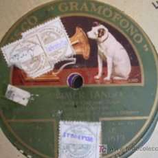 Disques en gomme-laque: RAMONCITA ROVIRA : EL PRIMER TANGO ; LA CIEGUITA. TANGOS. GRAMOFONO AE 1613. Lote 26761610