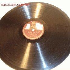 Discos de pizarra: ANTIGUO DISCO DE GRAMÓFONO ODEÓN -LOS DE ARAGÓN- POR EMILIO VENDRELL, HACIA 1930.. Lote 1399679