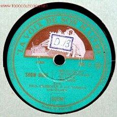 Discos de pizarra: PAUL WHITEMAN (SHOW BOAT) HMV. Lote 1595129