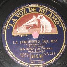 Discos de pizarra - PIZARRA LYS ASSIA - LA JARDINERA DEL REY, MI SUEÑO - 10415858