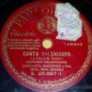 Discos de pizarra: DISCO 78 RPM - CONCHITA MARTÍNEZ - CANCIÓN VALENCIANA / CANCIÓN ANDALUZA - PARLOPHON - PIZARRA. Lote 10703578