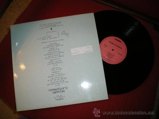 Discos de pizarra: BALADA PARA ADELINE,RICHARD CLAYDERMAN(MITAD DE PRECIO EN NAVIDAD ,ANTES 18 EUROS) - Foto 2 - 60438757