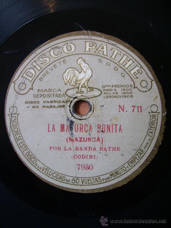 BELLA, MAZURCA, Y LA MAZURCA BONITA (Música - Discos - Pizarra - Flamenco, Canción española y Cuplé)