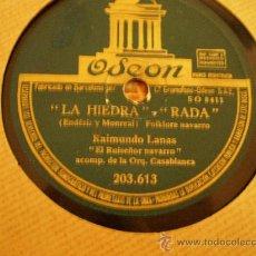 Discos de pizarra: FRANCISCO CANARO. CANCION DESESPERADA + ADIOS PAMPAMIA.. Lote 11939060