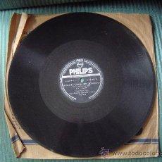 Discos de pizarra: DISCO DE PIZARRA PHILIPS.. Lote 12211464