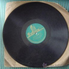 Discos de pizarra: DISCO DE PIZARRA ODEÓN.. Lote 12211959