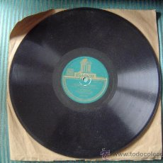 Discos de pizarra: DISCO DE PIZARRA ODEÓN.. Lote 12211992