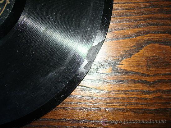 Discos de pizarra: en secreto y tengo un amor, de la pelicula el peñon de las animas refran cantado por jose de lara, - Foto 2 - 27147274