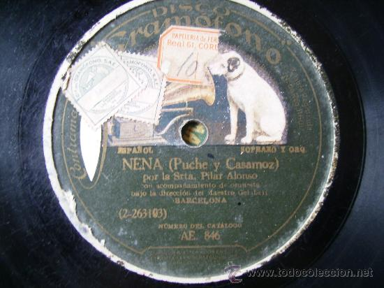 LA MISS LONDON Y NENA (Música - Discos - Pizarra - Flamenco, Canción española y Cuplé)