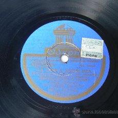 Discos de pizarra: JESUS PEROSANZ Y SEVILLANITO ODEON LA COPLA ANDALUZA PIZARRA 78 RPM . Lote 13841633