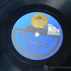 Shellac Records - JESUS PEROSANZ GUITARRA: MANOLO EL DE BADAJOZ ODEON FLAMENCO PIZARRA 78 RPM - 13841634