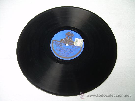 Discos de pizarra: JESUS PEROSANZ GUITARRA: MANOLO EL DE BADAJOZ ODEON LA COPLA ANDALUZA PIZARRA 78 RPM - Foto 2 - 13841635
