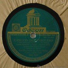 Discos de pizarra: ORQUESTA ARTUR KAPS - LA CANCION DEL FAROLERO - DISCO PIZARRA 78 RPM. Lote 12964426