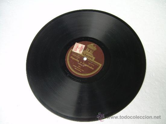 Discos de pizarra: CORA RAGA GIGANTES Y CABEZUDOS JOTA ODEON PIZARRA 78 RPM - Foto 2 - 14020572