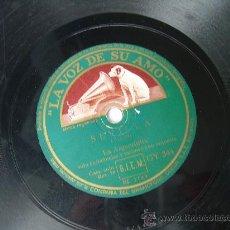 Discos de pizarra: LA ARGENTINITA CADIZ LA VOZ DE SU AMO PIZARRA 78 RPM. Lote 14020574