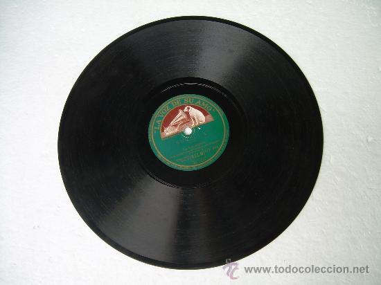Discos de pizarra: LA ARGENTINITA CADIZ LA VOZ DE SU AMO PIZARRA 78 RPM - Foto 2 - 14020574