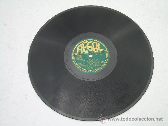 Discos de pizarra: MANUEL GOZALBO Y EDERLINDA HAY QUE OIR REGAL PIZARRA 78 RPM - Foto 2 - 23786656